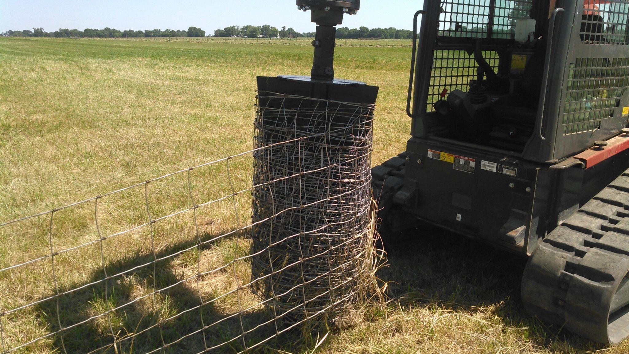 Web Wire Fence Unroller - WIRE Center •