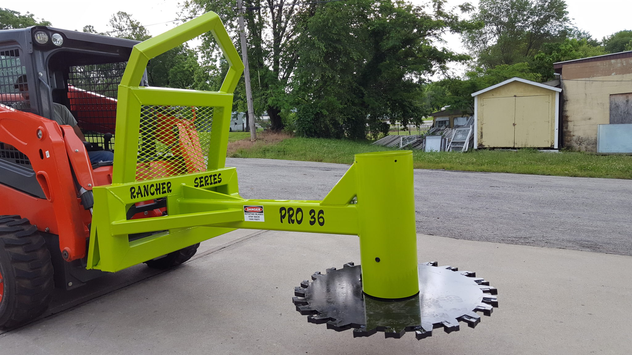 Rancher Series Pro-36 Fixed Position Non-Rotating Tree Saw ($8,500 ...
