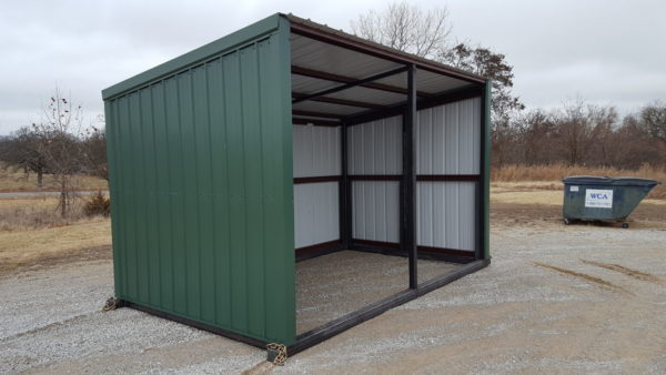horse shed green 6